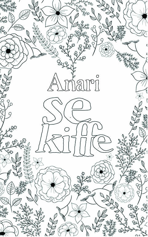 coloriage adulte anti stress personalisé avec prénom Anari