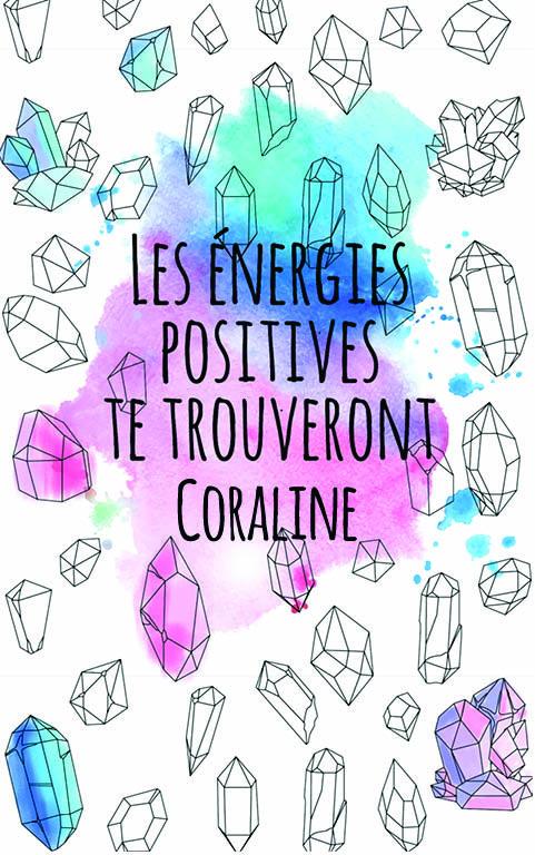 coloriage adulte anti stress personalisé avec prénom Coraline idée cadeau meilleure amie
