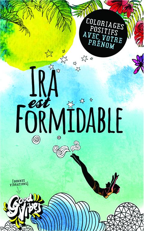 Ira est formidable livre de coloriage personalisé cadeau pour sa meilleure amie ou sa mère