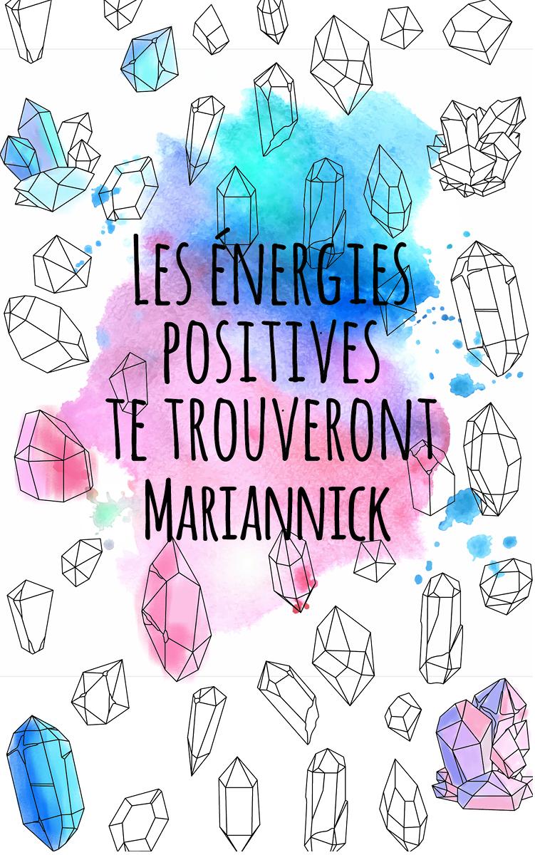 coloriage adulte anti stress personalisé avec prénom Mariannick idée cadeau Mariannick