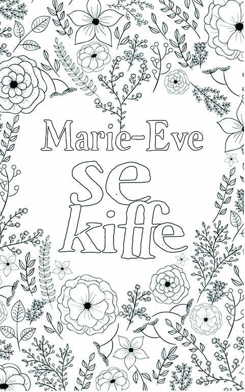 coloriage adulte anti stress personalisé avec prénom Marie-Eve