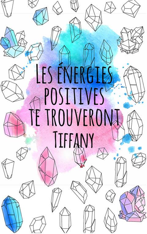 coloriage adulte anti stress personalisé avec prénom Tiffany idée cadeau meilleure amie
